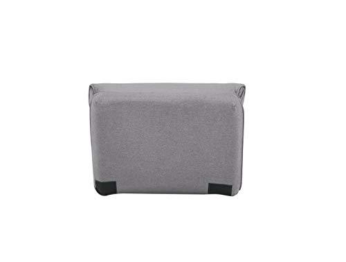 AmazonBasics - Sofá cama, 78 x 82 x 58, gris claro