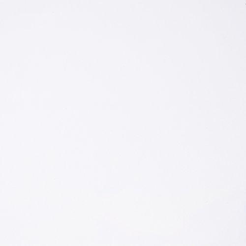 Armario Ropero 2 Puertas y 2 Cajones, Armario Habitación, Modelo Low Cost, Acabado en Color Blanco Artik, Medidas: 81,5 cm (Ancho) x 181 cm (Alto) x 52 cm (Fondo)