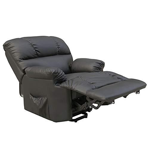 Sillón de masaje y Relax con calor lumbar Irene (Negro)
