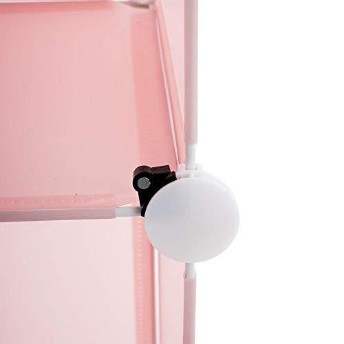 Almacenamiento de columna rosa
