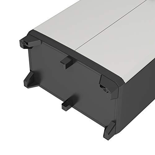 Keter Gear - Armario alto con 4 Baldas Regulables 182 x 68 x 39 cm, Color Gris