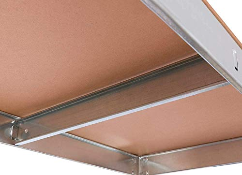 Nyana Home   Set de 2 Estanterías Metálicas Galvanizadas   875Kg 5 Baldas   Medidas 180 x 90 x 40cm