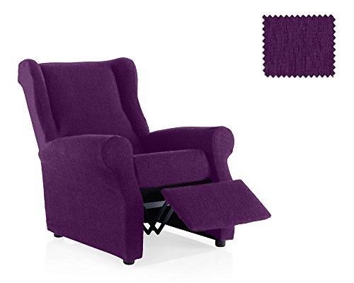 JM Textil Funda de sillón Relax elástica Haber Tamaño 1 Plaza (Estándar), Color 12