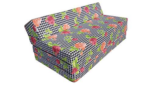 Natalia Spzoo Colchón Plegable Cama de Invitados Forma de sillón sofá de Espuma 200 x 120 cm (008)
