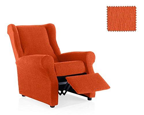 JM Textil Funda de sillón Relax elástica Haber Tamaño 1 Plaza (Estándar), Color 09