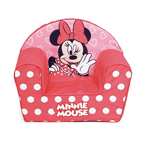 ARDITEX WD13025 Sofá Desenfundable de Espuma 42x52x32cm de Disney-Minnie