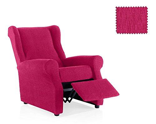 JM Textil Funda de sillón Relax elástica Haber Tamaño 1 Plaza (Estándar), Color 02