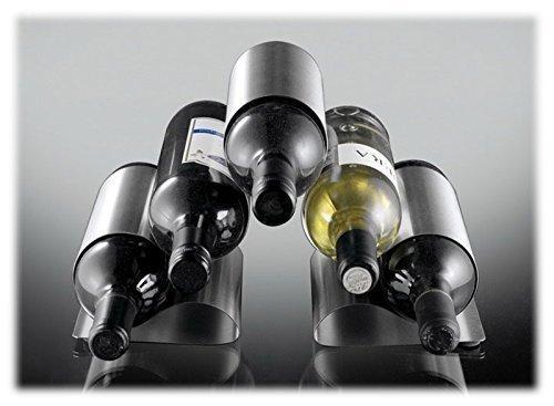ASC 5 Botella curvados Metal Botellero - Nuevo Contemporáneo Diseño Moderno