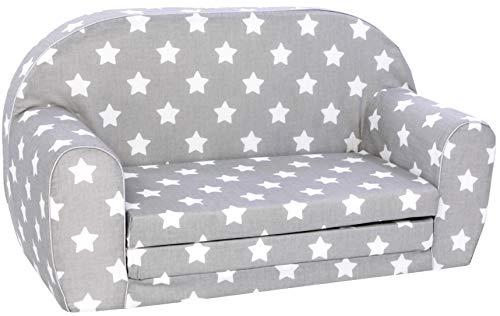 KNORRTOYS.COM Knorrtoys 68441-Kindersofa-Stars White Sofá Infantil