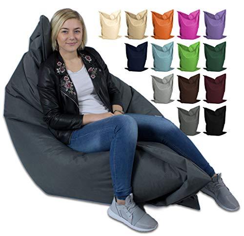 GiantBag - Puf gigante para interior y exterior, para niños y adultos