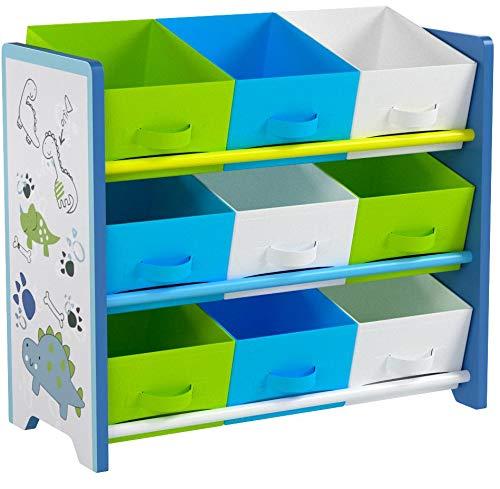 Kesper 17725 - Estantería infantil, color azul