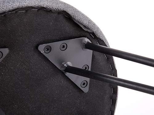 Movian Arno – Taburete, gris oscuro