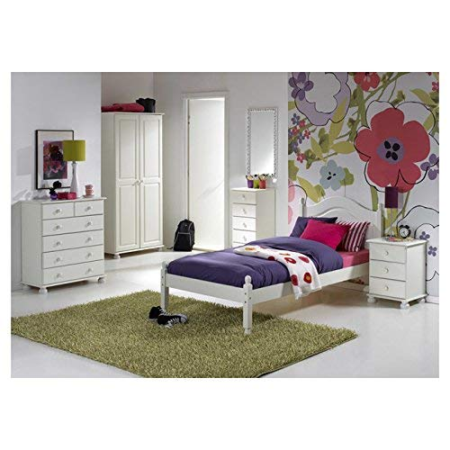 Steens Furniture 3022130050000F/1022130050000N cómoda Richmond, 90 x 82 x 38 cm, madera de pino maciza, blanco
