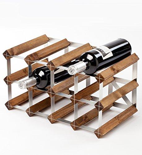 OC ORDEN EN CASA Y MUCHO MAS Botellero Modular 4x2, 12 Botellas