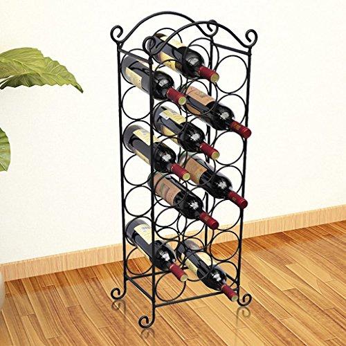 Vislone botelleros Vino de Madera para 21 Botellas,88 x34x20cm