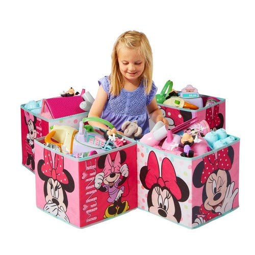 Minnie Mouse - Cajas para niños para Guardar Juguetes