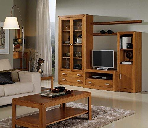 Dogar Kynus - Mesa de tv, 50 x 100 x 50 cm, madera, color cerezo