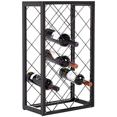 AmazonBasics – Botellero con tablero para 23botellas de vino