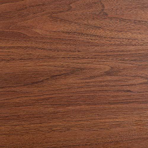Marca Amazon - Movian Ljungan - Mesa de centro con 2 cajones, 102 x 60 x 38 cm, efecto de nogal